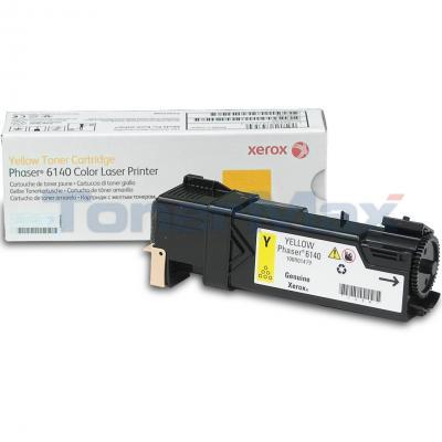 XEROX PHASER 6140 TONER CARTRIDGE YELLOW